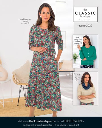 Request classic clothing catalogues online