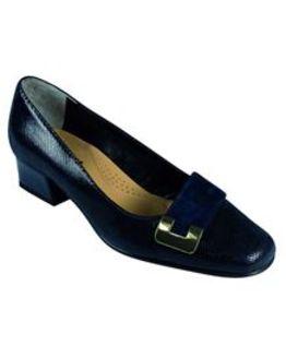Van Dal Navy Duchess Shoe