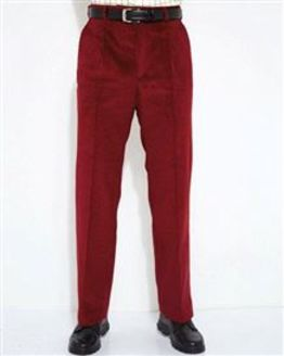 Red Corduroy Trousers