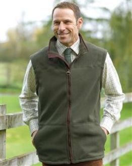 Olive Portree Body Warmer Gilet