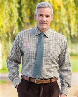 Kelso Tattersall Check Cotton & Wool Shirt