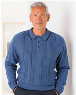 Gabicci Patterned Polo Top