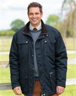 Navy Balmoral Waterproof Jacket