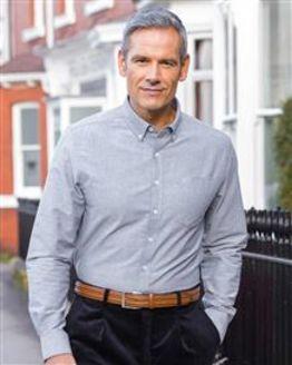 Farah Drayton Long Sleeved Oxford Shirts