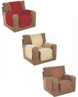 Faux Suede Furniture Protectors