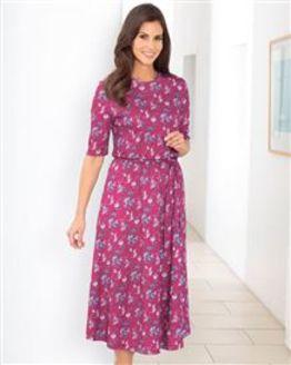Delores Multi Coloured Pure Silky Cotton Dress