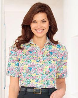 Mandy Floral Pure Cotton Blouse