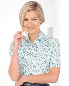 Alison Floral Pure Cotton Blouse
