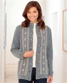 Darcy Lambswool Jacket