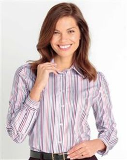Kathryn Striped Pure Cotton Blouse