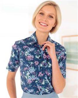 June Floral Pure Cotton Blouse