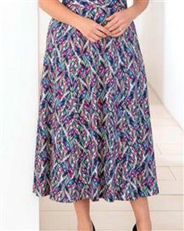 Megan Floral Pure Silky Cotton Skirt