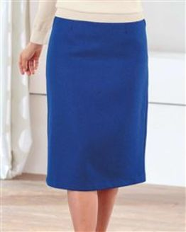 Sicily Pure Shetland Wool Tweed Straight Skirt
