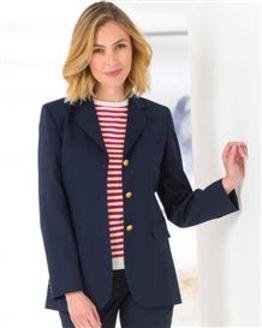 Ladies Classic Navy Blazer