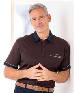 Burgundy Gabicci Short Sleeve Polo