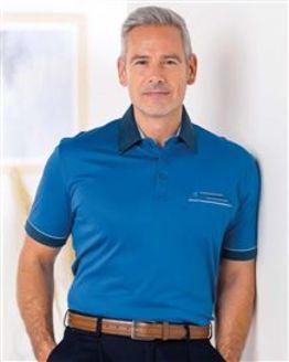 Royal Blue Gabicci Short Sleeve Polo