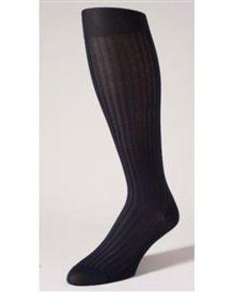 Pantherella Stretch Cotton Knee Socks