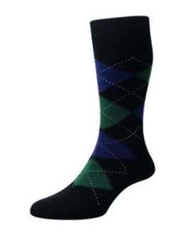 Pantherella Wool blend Argyll Socks