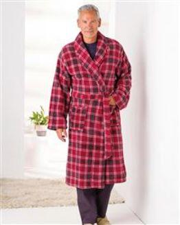 Men's Fleece Dressing Gown