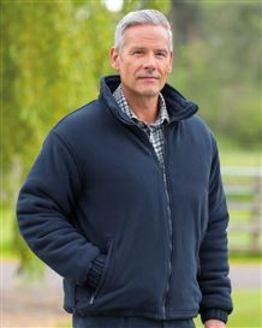 Glen Zip Up Fleece Jacket