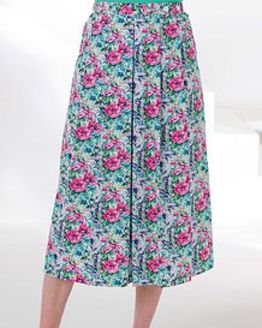 Margo Floral Pure Cotton Skirt