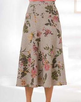 Della Wool Mix Skirt