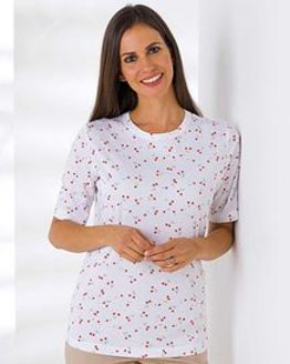 Miley Patterned Pure Cotton Leisure Top