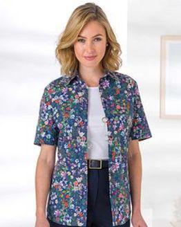 Maggie Floral Pure Cotton Blouse