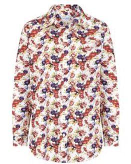 Eva Patterned Pure Cotton Blouse