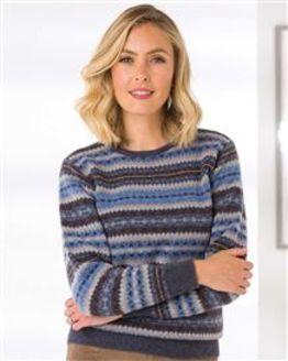 Thea Fairisle Sweater