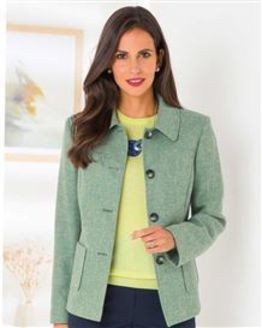 Valencia Pure Shetland Wool Jacket