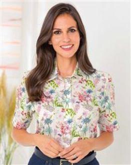 Cassidy Floral Pure Cotton Blouse