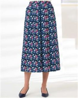 Arabella Patterned Pure Cotton Skirt