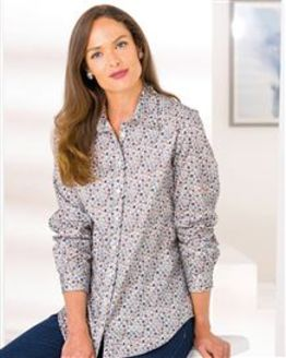 Candy Patterned Pure Cotton Blouse