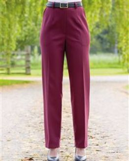 Claret Double Layer Trousers