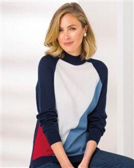 Verity Turtle Neck Tunic Sweater