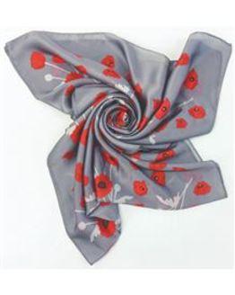 Poppy scarf