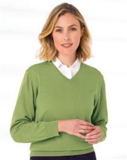 Merino V neck Sweater  Ladies
