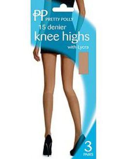 Pretty Polly 15 Denier Everyday Knee Highs