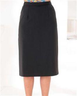 Sandown Wool Mix Straight Skirt