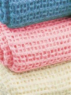 Cotton Cellular Blankets