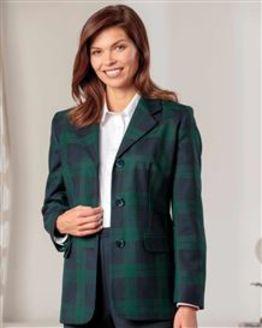 Brampton Pure Wool Blackwatch Check Jacket