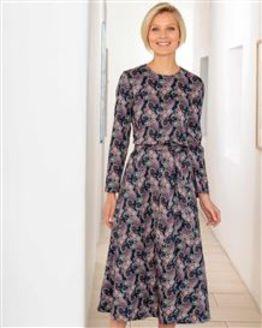 Yvonne Patterned Pure Cotton Dress