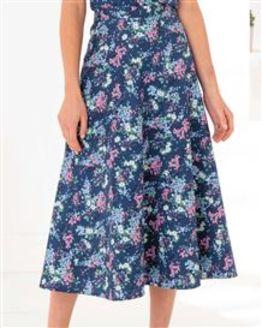 June Floral Pure Cotton Skirt
