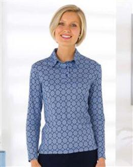 Gemma Silky Cotton Polo