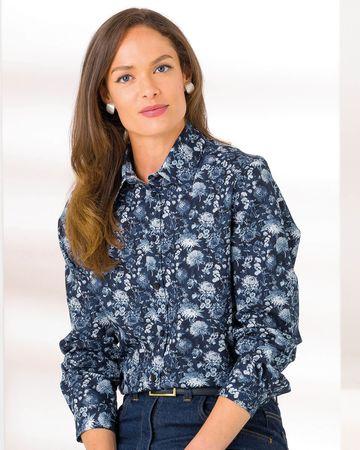 Katherine Floral Pure Cotton Blouse