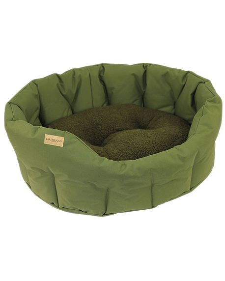 Classic Waterproof Round Dog Bed