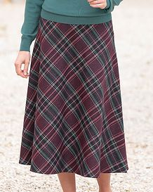 Jura Multi Coloured Wool Blend Skirt