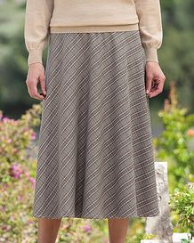 Murray Multi Coloured Wool Blend Skirt