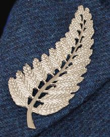 Fern Leaf Brooch